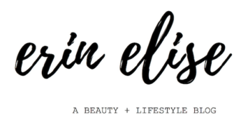 erin elise - a fashion + lifestyle blog